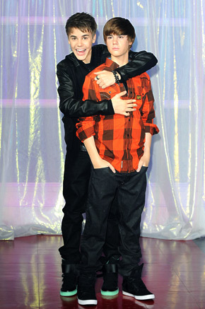 justin bieber wax figure london. Justin Bieber is a work of art